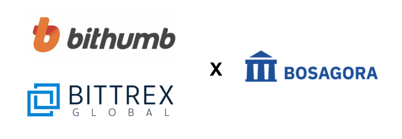 BOSAGORA being listed on Bithumb & Bittrex Global, Implement broadcasting preimage, etc.